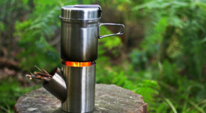 Kombuis Is a Portable Rocket Stove