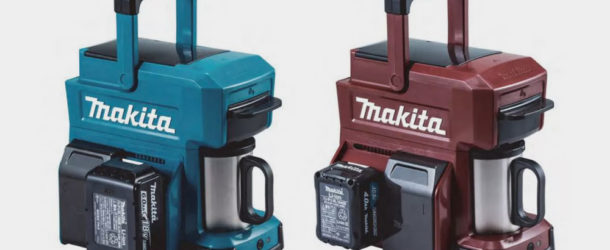 This Coffee Maker Runs on Power Tool Batteries